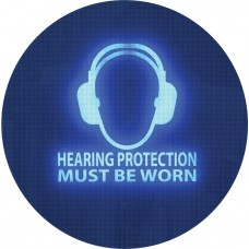 Noise Activated Sign - Hearing Protection Must be Worn