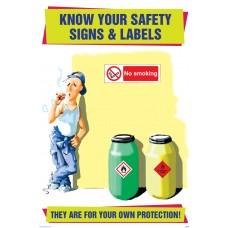 Know Your Safety Signs & Labels Poster