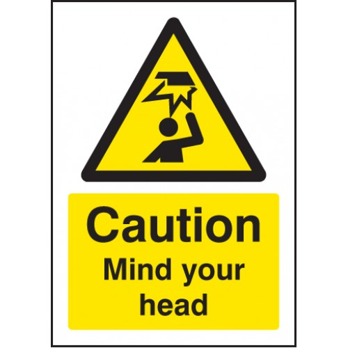 A5 Caution - Mind Your Head