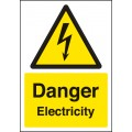 A4 Danger - Electricity