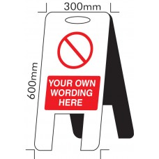 Standard Special - Self Standing Floor Sign