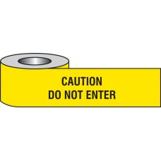 Caution - Do Not Enter Barrier Tape
