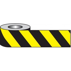 Self Adhesive Hazard Tape - 33m x 50mm - Black/yellow