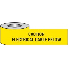 Caution - Electrical Cable Below Underground Tape