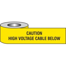 Caution - High Voltage Cable Below Underground Tape