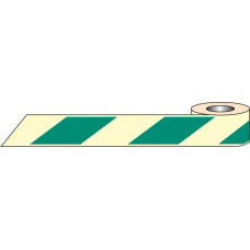 Green / White Photoluminescent Tape