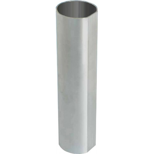 Anti-Rotational Steel Post - Grey - 3.0m x 76mm