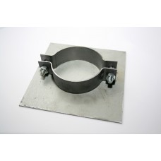 Steel Base Plate for 76mm Poles