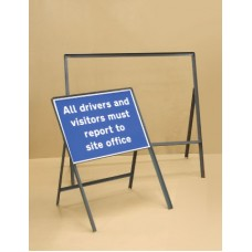 Sign Frame - 1050 x 750mm - 300mm Legs