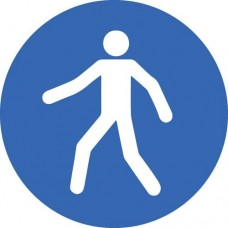 Floor Graphic - Pedestrian