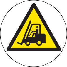 Floor Graphic - Forklift Truck