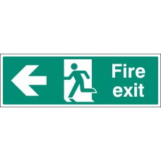 Floor Graphic - Fire Exit Left