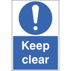 Floor Graphic - Keep Clear