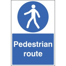 Floor Graphic - Pedestrian Route