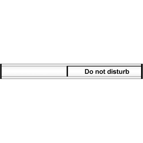 Do Not Disturb Door Slider