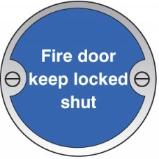 Fire Door - Keep Locked Shut