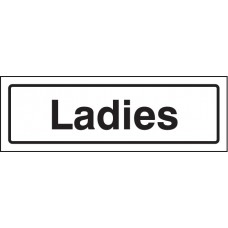 Ladies - Visual Impact Sign