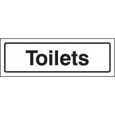 Toilets - Visual Impact Sign