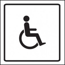 Disabled Symbol - Visual Impact Sign