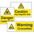 Standard Special Warning Sign - Rigid PVC