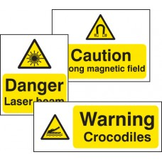 Standard Special Warning Sign - Aluminium Composite