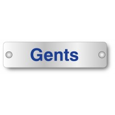 Gents - Visual Impact - Aluminium Door Sign
