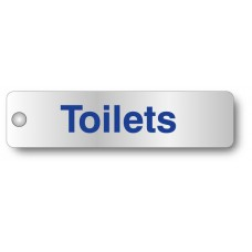 Toilets - Visual Impact - Aluminium Door Sign