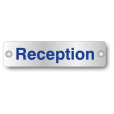Reception - Visual Impact t- Aluminium Door Sign