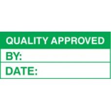 Roll of 100 x Quality Approved Labels - 50 x 20mm