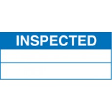 Roll of 100 x Inspected Labels - 50 x 20mm