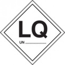 Roll of 100 LQ UN Labels - Roll of 100 100mm