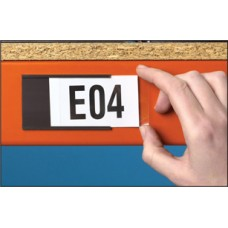 Magnetic Label Holder - 80 x 50mm (Pack of 100)