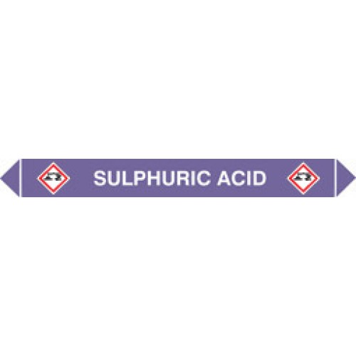 Flow Marker (Pack of 5) Sulphuric Acid