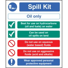 Spill Kit Oil Type Only