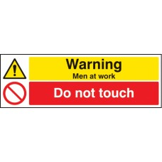 Warning - Men At Work Do Not Touch