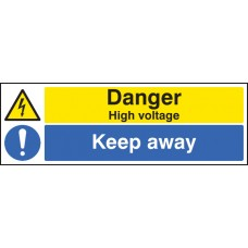 Danger - High Voltage Keep Away