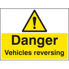 Danger - Vehicle Reversing
