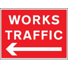 Works Traffic - Arrow Left