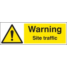 Warning Site Traffic