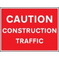 Caution - Construction Traffic