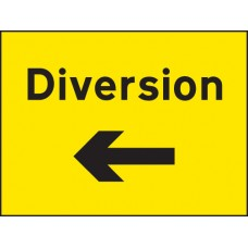 Diversion Left Arrow