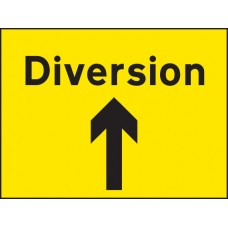 Diversion Up Arrow