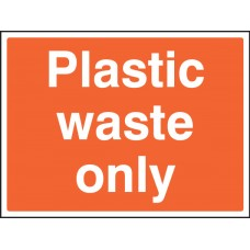 Plastic Waste Only