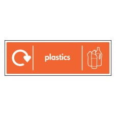 WRAP Recycling Sign - Plastics