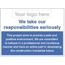 Safe and Positive Environment - We take our responsibilities seriously
