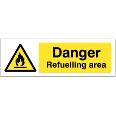 Danger - Refuelling Area