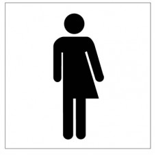 All gender toilet symbol