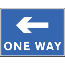 One Way - Left
