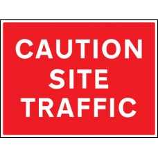 Caution - Site Traffic