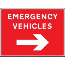 Emergency Vehicles Arrow Right